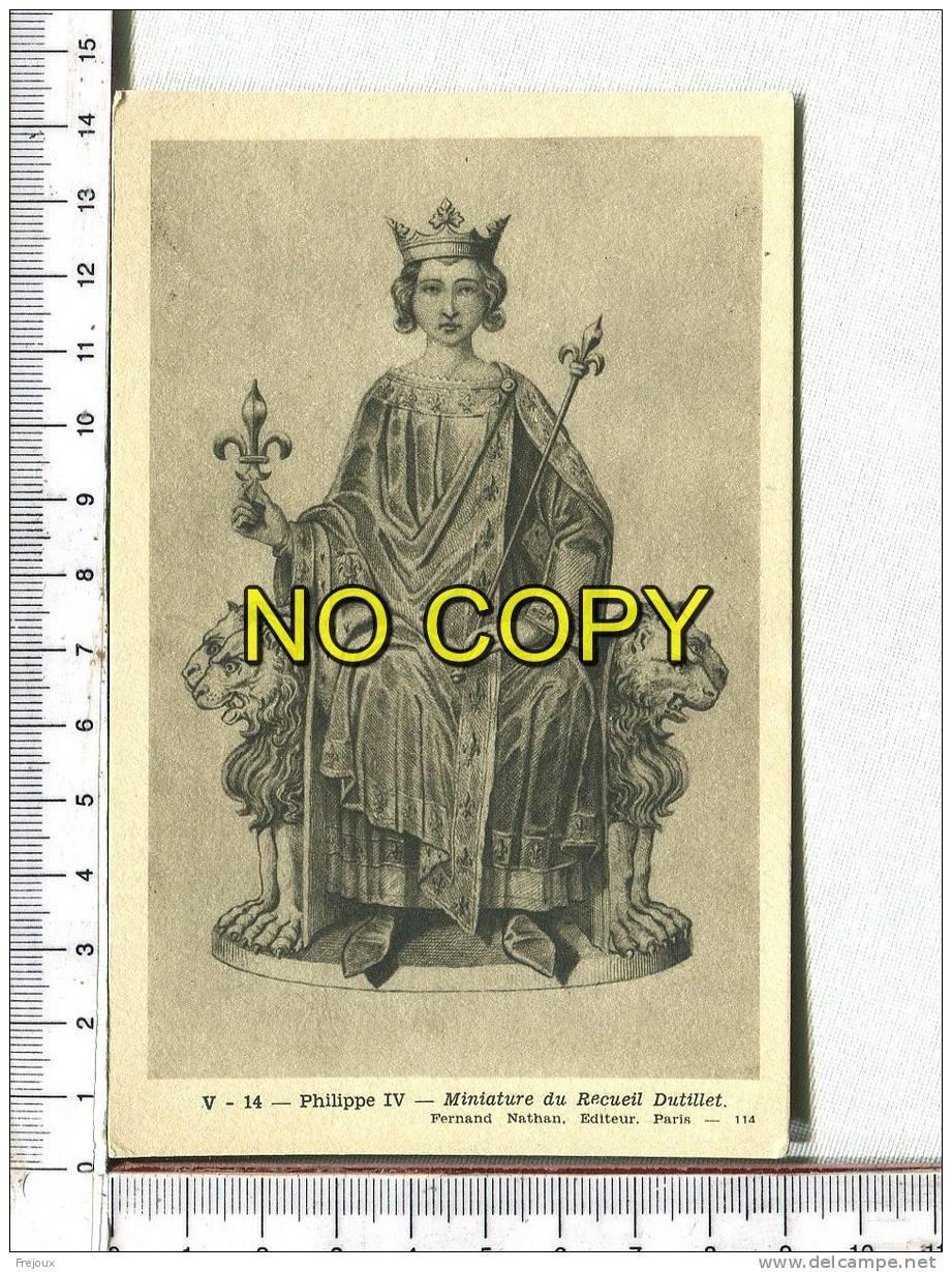Portrait De  FRANCOIS II  D´après RauchPHILIPPE IV - D'après Miniature Du Recueil Dutillet - Histoire