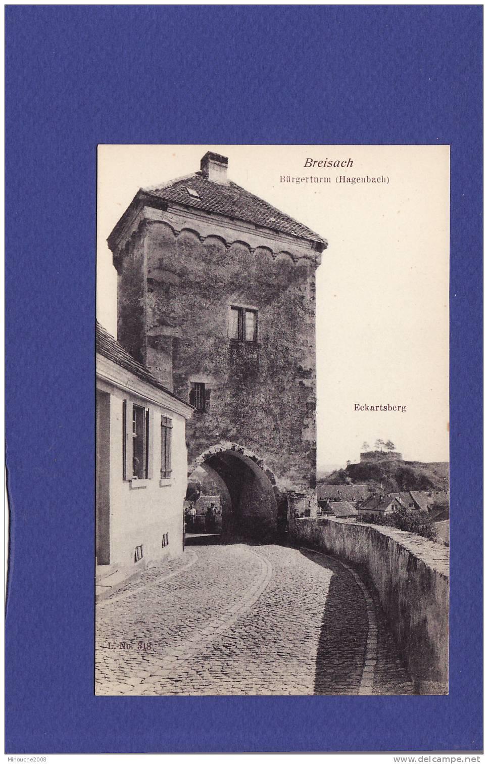 CD 1292)  BREISACH  Burgerturm  (Très Très Bon état ) 10 - Breisach