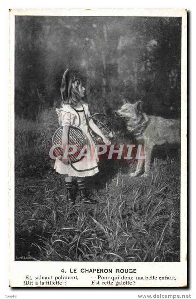 CPA Le Petit Chaperon Rouge Loup - Sin Clasificación