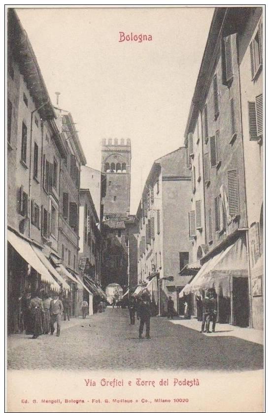 CPA ITALIE ITALIA BOLOGNA Via Orefici 1904 - Bologna