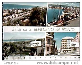 SAN BENEDETTO DEL TRONTO VEDUTE VB1961  DB2425 - Ascoli Piceno