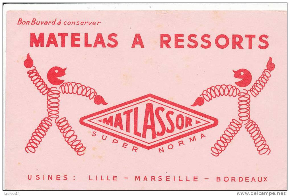 BU 555 /BUVARD - MATELAS A RESSORTS MATLASSOR - M