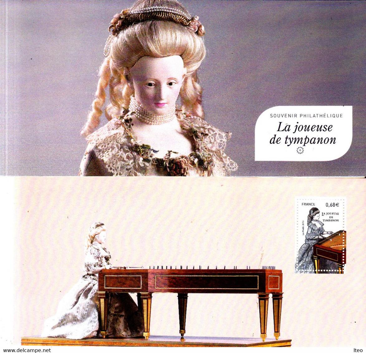 Frances 2015** 6 Souvenirs Philatéliques Les Boites à Musique - Music