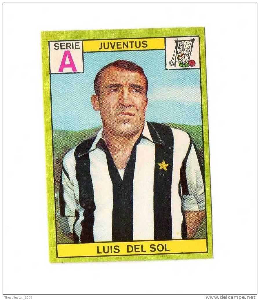 Figurine Panini 1968-1969 # Juventus (Luis Del Sol) - Panini