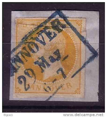 Hannover Minr.16 Briefstück - Hannover