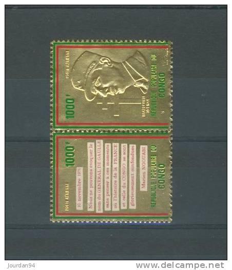 CONGO  ----        N°         135   /   136 - Congo - Brazzaville