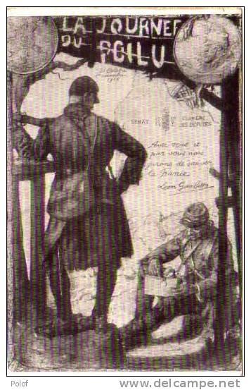 La Journee Du Poilu - Pieces De Monnaie - Ecu (23062) - Monnaies (représentations)