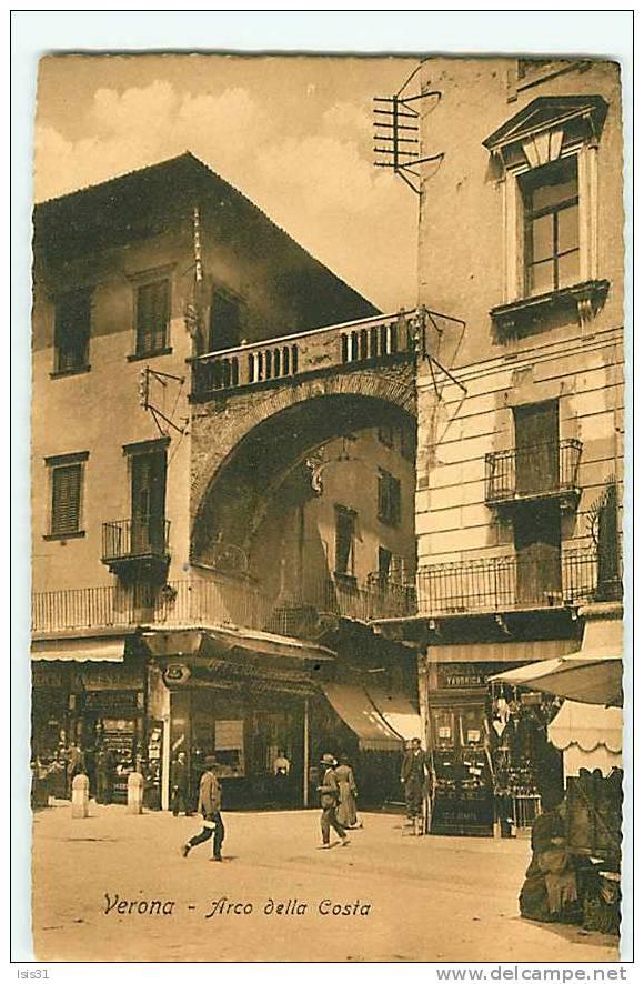 Italie - Veneto - Venetie - Verone - Verona - Arco Della Costa - Bon état - Verona