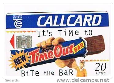IRLANDA (IRELAND) - TELECOM EIREANN CHIP  - 1995 CADBURY'S TIME OUT    - USED - RIF. 7882 - Irlanda