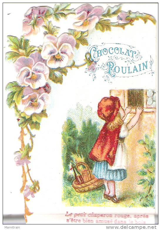 DECOUPI . LE PETIT CHAPERON ROUGE . III - Poulain