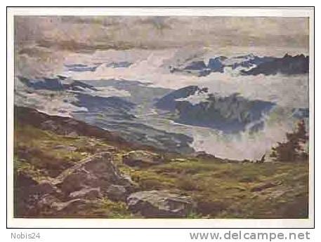 103285 HDK1030 Wolken über Dem Inntal Haus Der Deutschen Kunst   Ca.1940  Farbig - Illustrateurs & Photographes