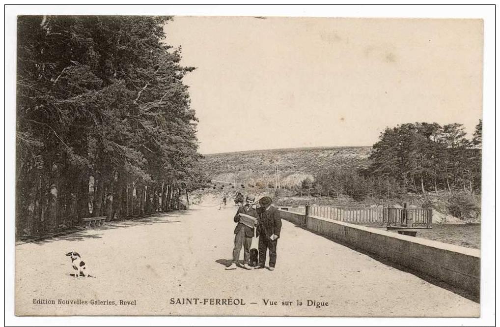 Saint Ferréol - Vue Sur La Digue - Animation - Saint Ferreol