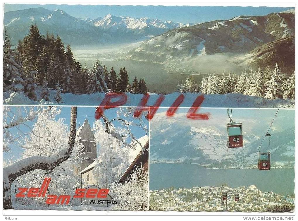 Zell Am See, Carte Multivues, Ref 1104-505 - Unclassified