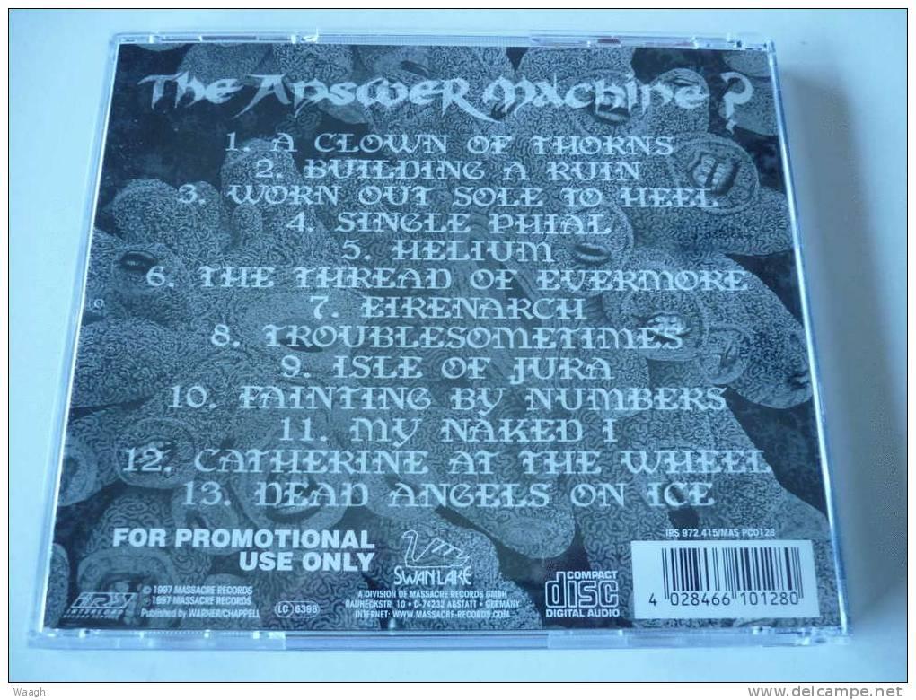 "SKYCLAD ""the Answer Machine ?"" CD PROMO + Boitier - Hard Rock & Metal"