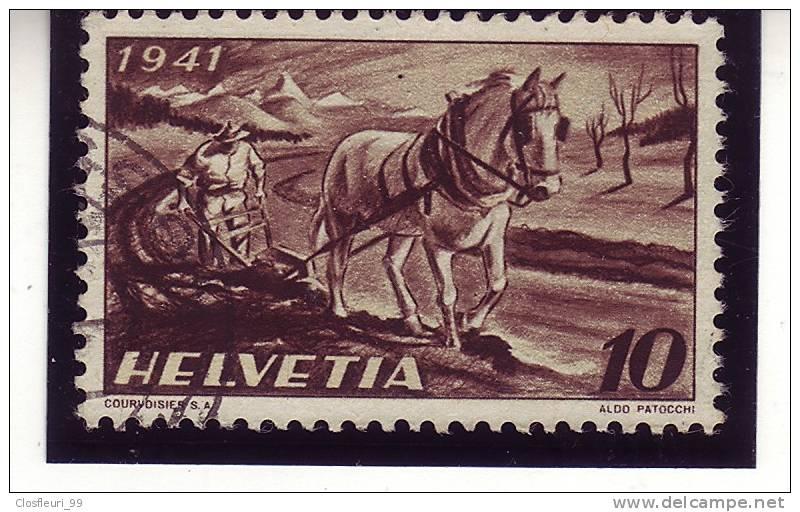 N° 252 / Bauer, Pferd, Pflug / Paysan Et Charrue / Deux(2) Variétés, Abarten - Errors & Oddities