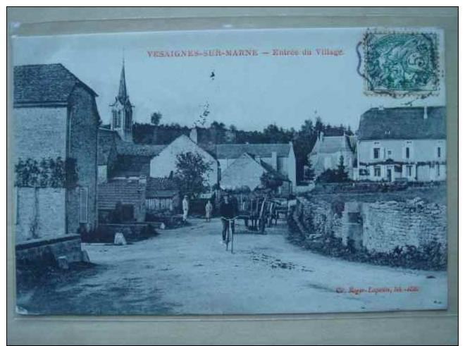 52. VESAIGNES SUR MARNE - Entrée Du Village - France
