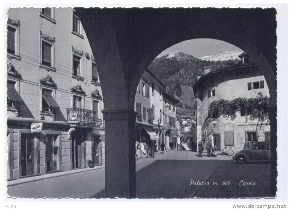 UD180- PALUZZA (UDINE)- Formato Grande- Viaggiata - Udine