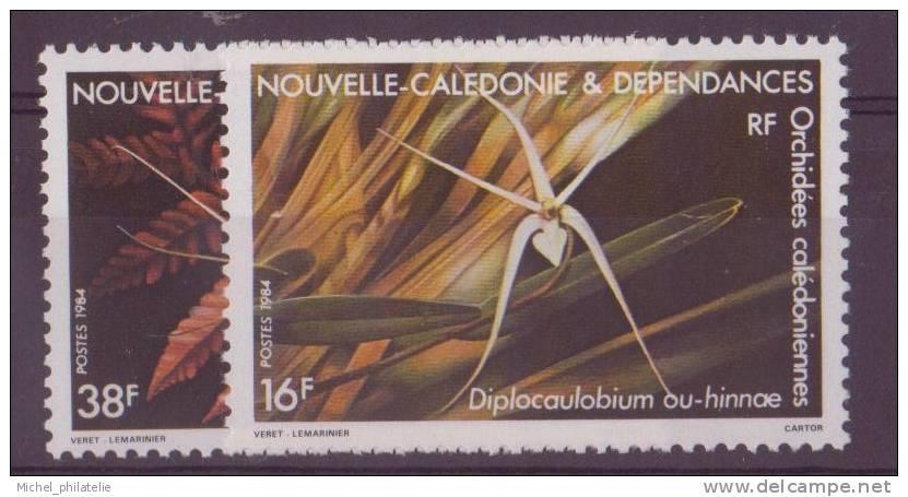 NOUVELLE-CALADONIE N° 488/89** NEUF  SANS CHARNIERE FLORE - Nueva Caledonia