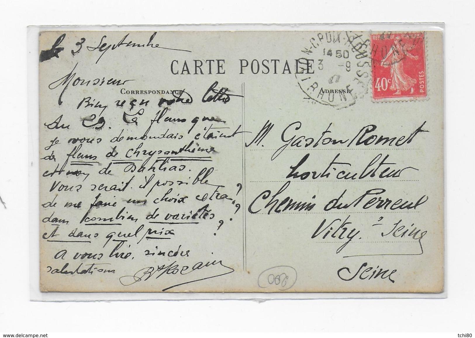 CUIRE Les LYON - Rozain Boucharlat - Géranium - - France