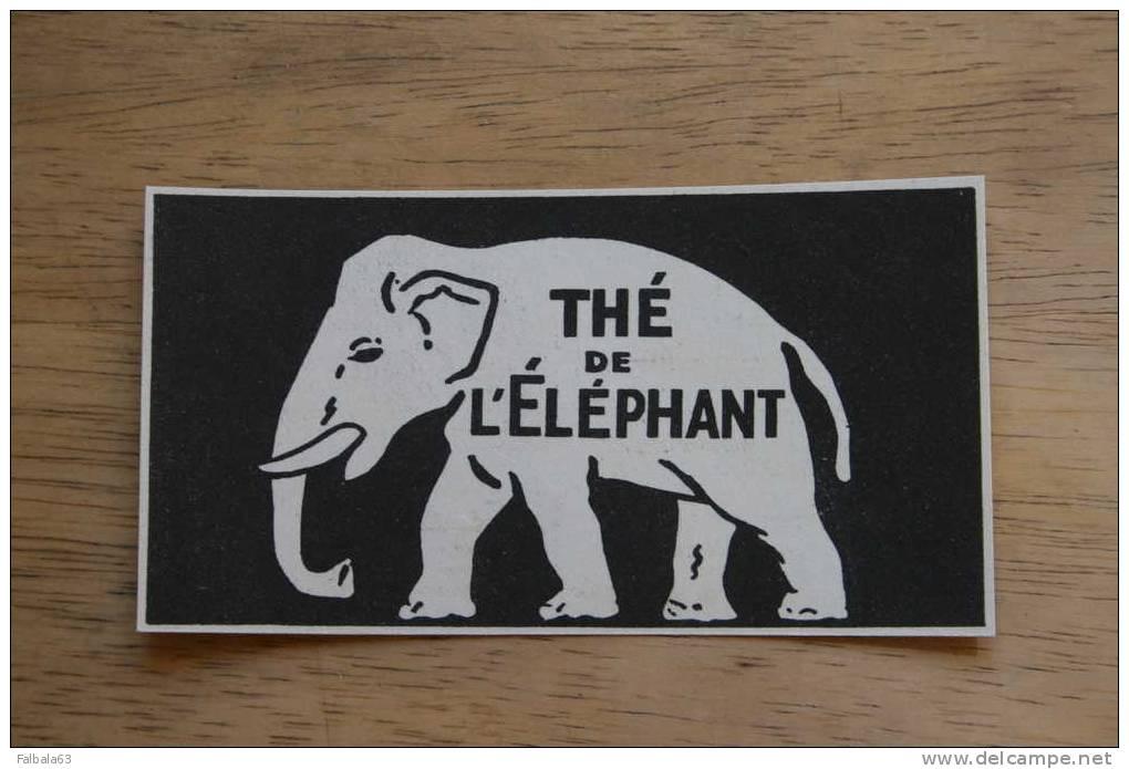 PUB 1933 Thé De L'Elephant Tea - Reclame