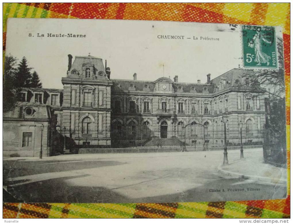 52 Haute Marne - CHAUMONT La Préfecture - Chaumont