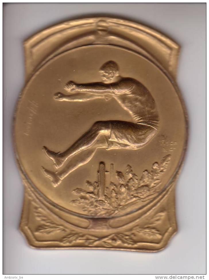 Médaille De Sport H Heusers - Fisch And Co - Professionals / Firms
