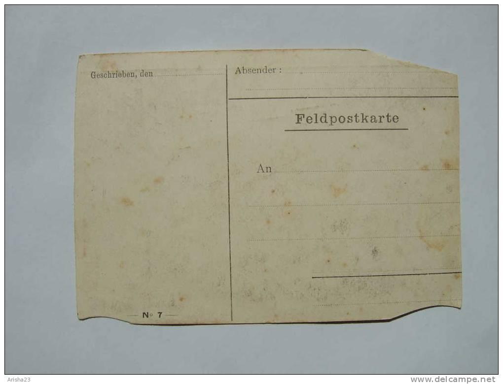 Old Art Postcard Belgium West Flanders Ieper - Feldpostkarte - Schwarzwaldhof Vor Ypern - Ieper