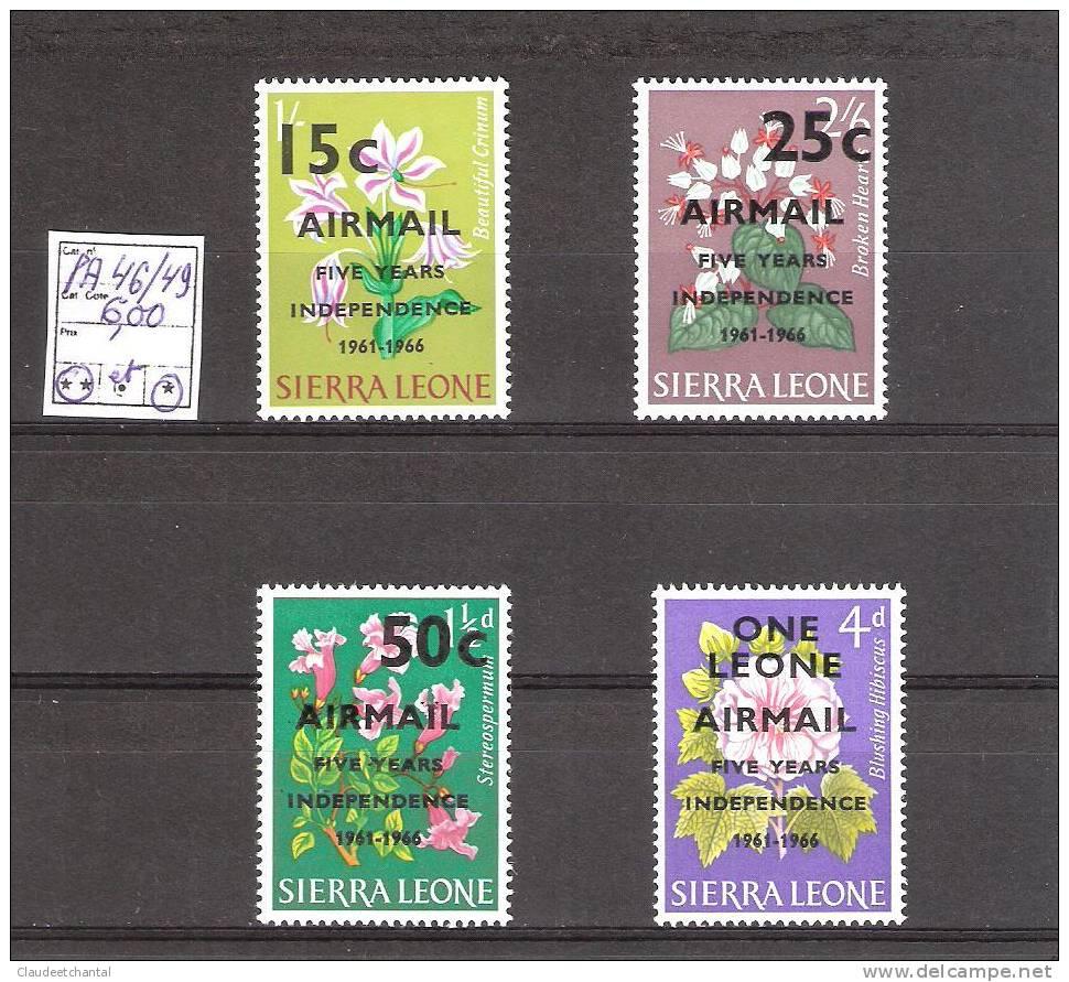 Sierra Leone PA 46/49 Manque Le 45  Cote :  6,00€. - Sierra Leone (1961-...)