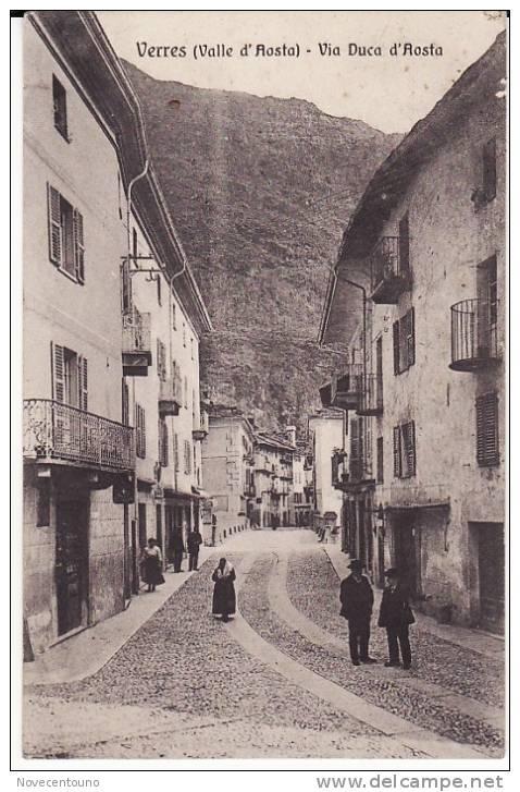 Valle D´Aosta - Verres -  Via Duca D´Aosta - Aosta