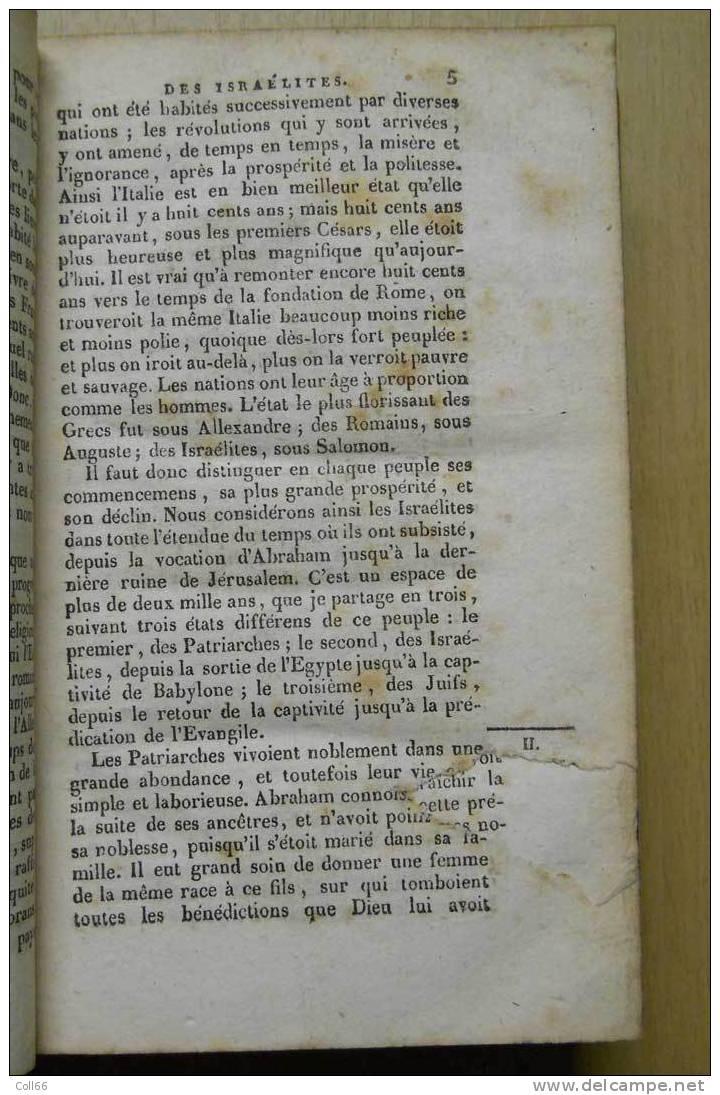 1825 Moeurs Des Israélites & Des Chrétiens Abbé Fleury Imp Aubanel Avignon Postage Inclus/France M& - Books, Magazines, Comics
