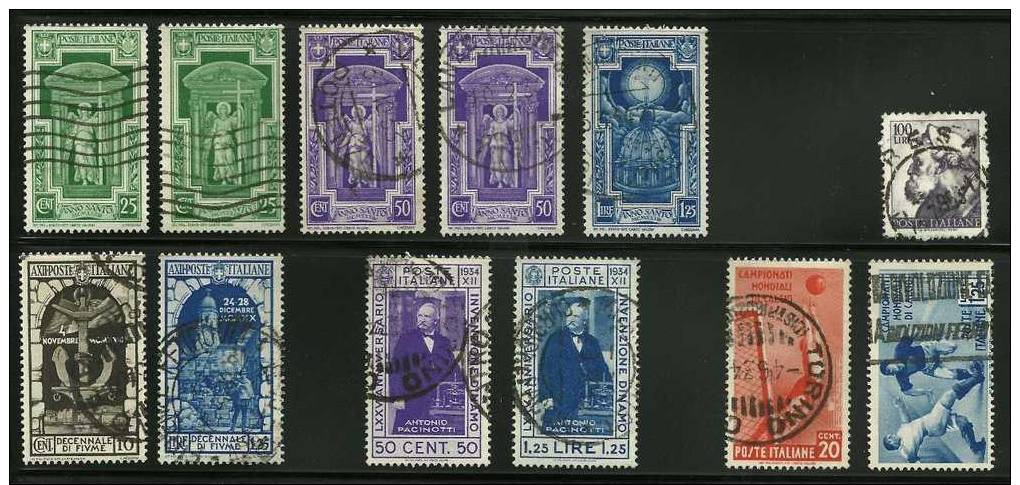 Large Italian Stamp Collection-1863-1950+ Unchecked Complete Sets, High-value Issues, Duplicates For Study, On-piece - Italy