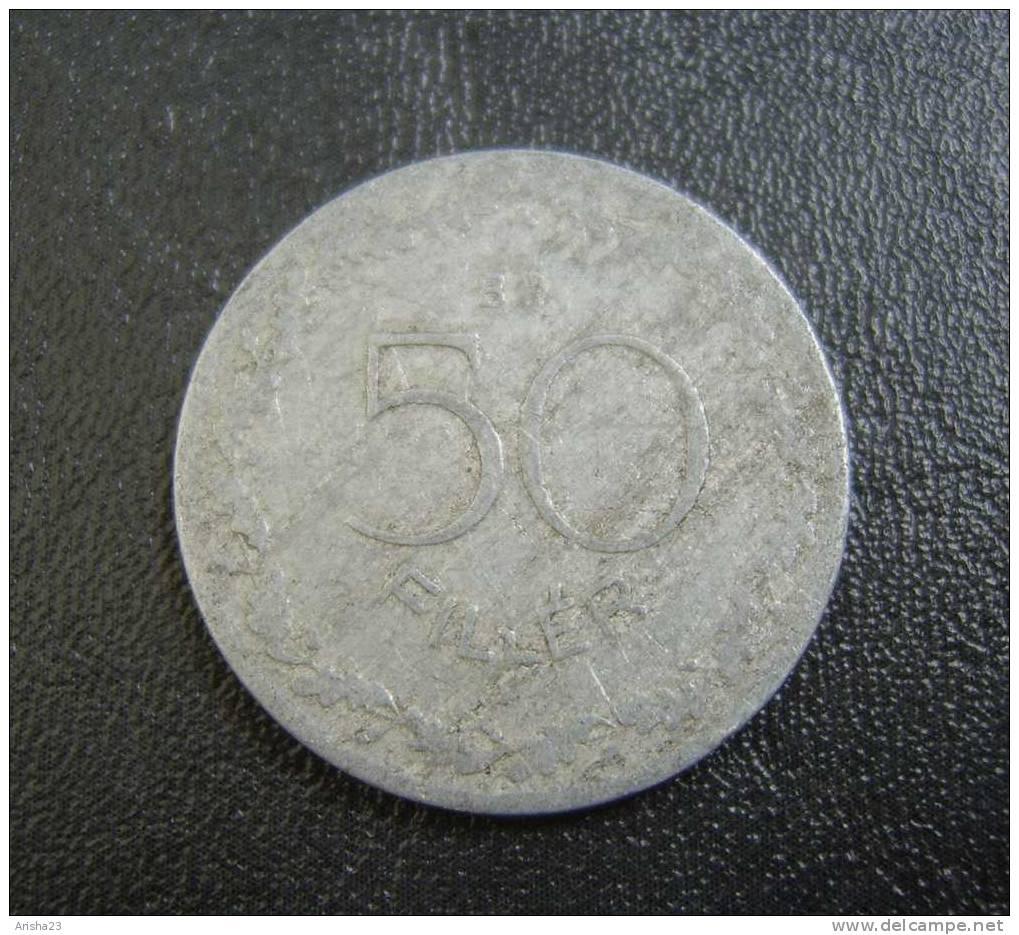 No.1. Hungary, Magyar, 50 FILLER 1948 - Hongrie