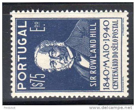 PORTUGAL -  N° 607  *  (1940) - 1910-... Republic