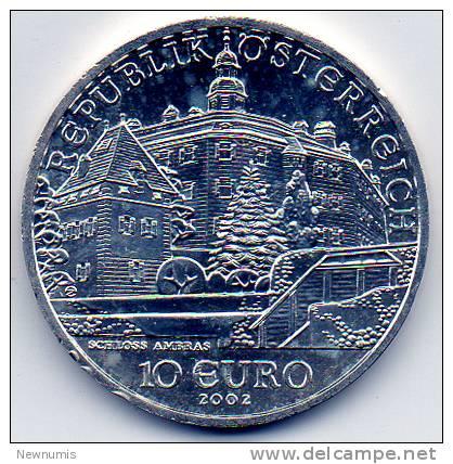 AUSTRIA 10 EURO 2002  AG925 - Austria