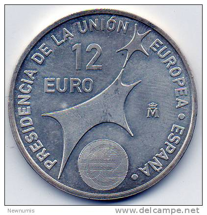 SPAGNA 12 EURO 2002   AG925 - Spagna
