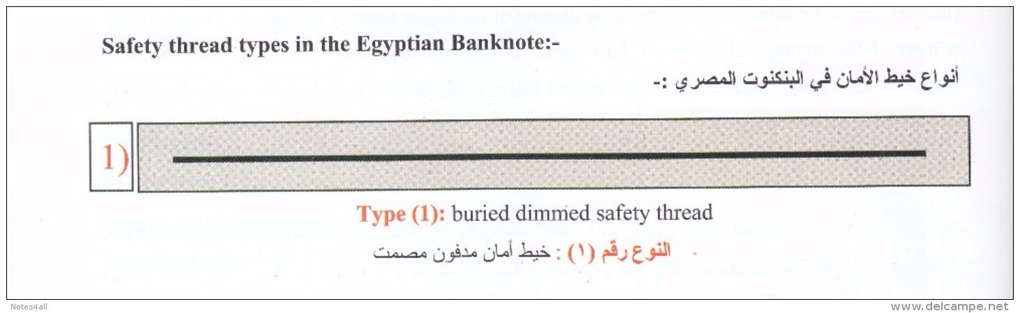 EGYPT 20 EGP 1987 P-52 SIG/ SALAH HAMED #18 UNC Tst#1 */* - Egypte
