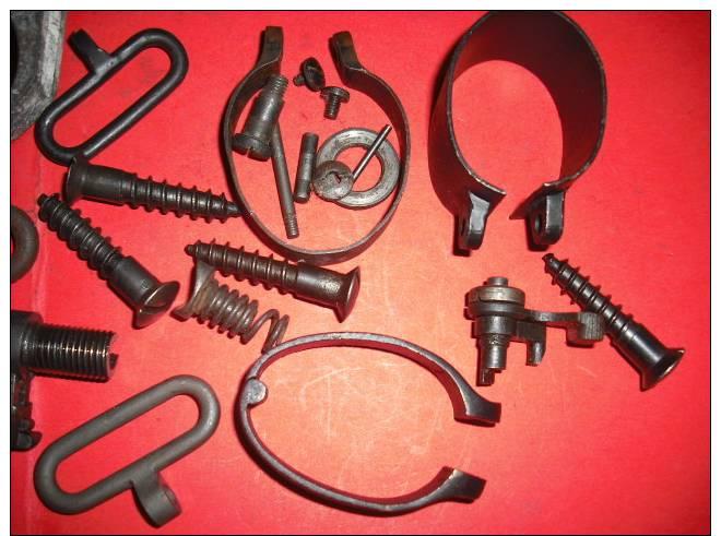 Lot De Pieces Pour Lee Enfield - Decorative Weapons