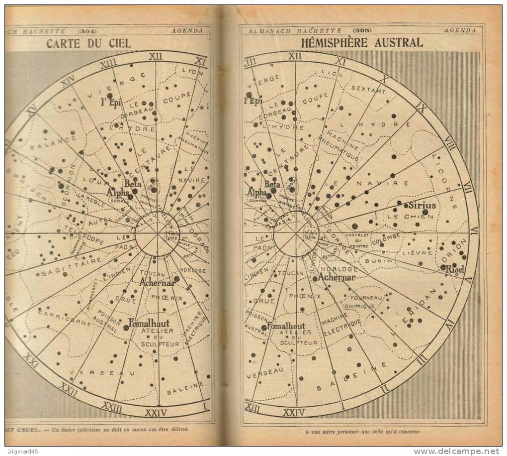 ALMANACH HACHETTE 1934 - Des Informations Renseignements Exceptionnels Pour L´époque L´ancêtre D´Internet - Livres, BD, Revues