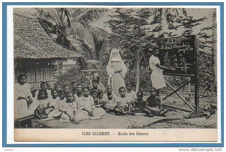 OCEANIE --  KIRIBATI --  Iles Gilbert -- Ecole Des Soeurs - Kiribati