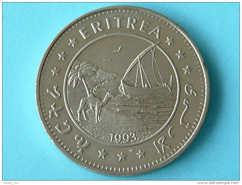 1993 - 1 DOLLAR - KM 14 ( For Grade, Please See Photo ) ! - Erythrée