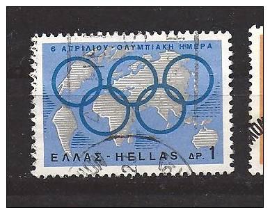 Jeux Olympiques / GRECE / ANNEAUX OLYMPIQUES - Juegos Olímpicos