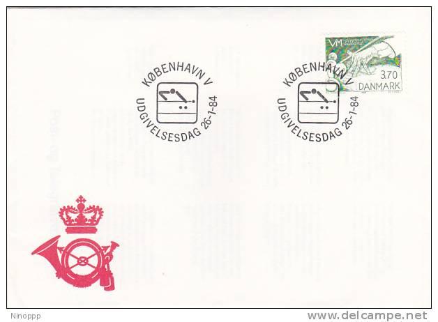 Denmark 1984 Billiards World Championship  Souvenir Cover - Stamps