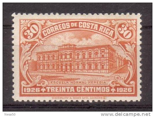 Costa Rica 1926 Mi Nr 138 School - Costa Rica