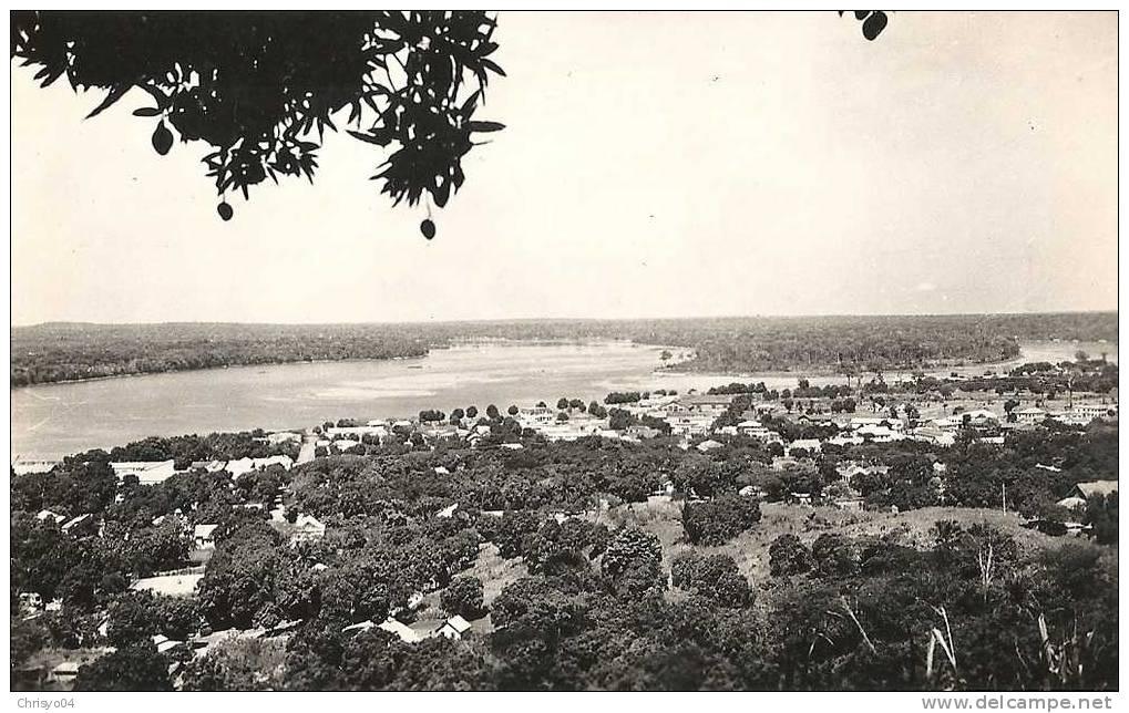 14Ve    REPUBLIQUE CENTRAFRICAINE BANGUI VUE GENERALE - Centraal-Afrikaanse Republiek