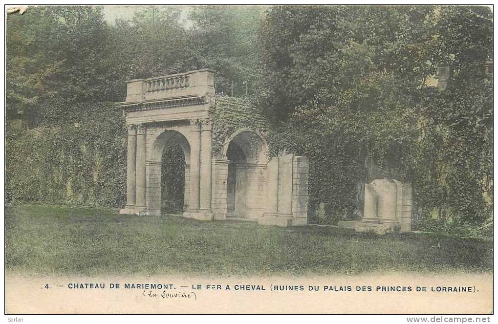 Belgique , MORLANWEILZ-MARIEMONT , Le Chateau , *10152 - Morlanwelz