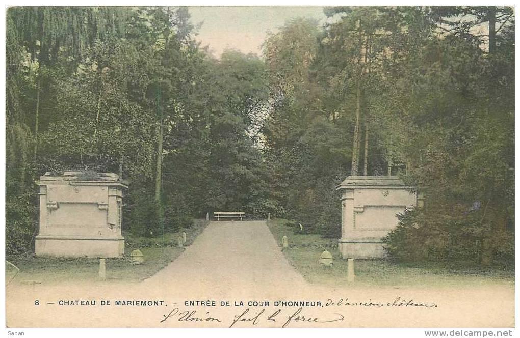 Belgique , MORLANWEILZ-MARIEMONT , Le Chateau , *10154 - Morlanwelz