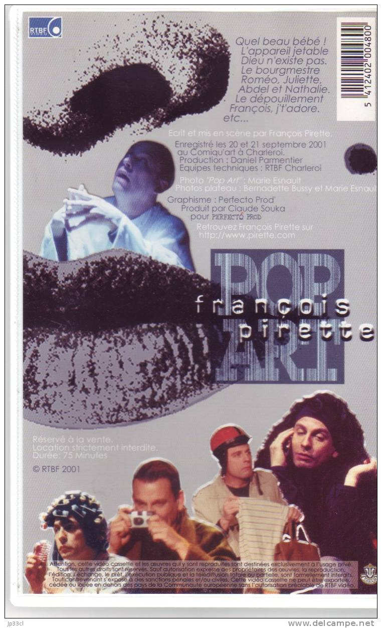 François Pirette - Pop Art (2001) - Komedie