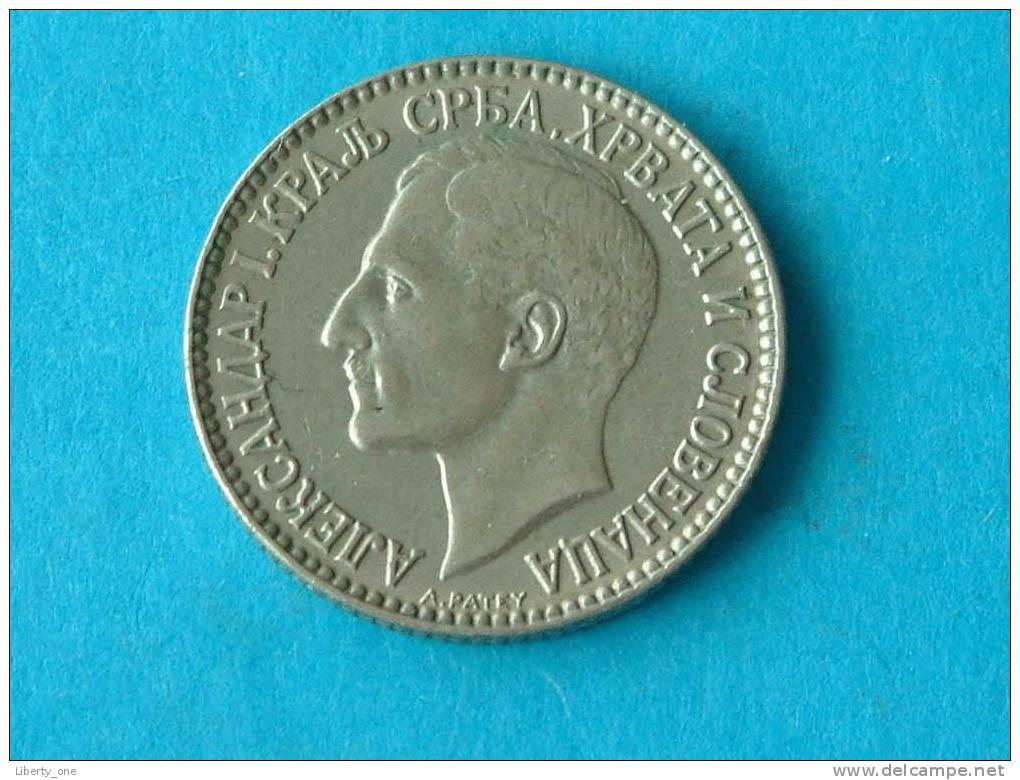 1925 - 1 DINAR / KM 5 ( For Grade, Please See Photo ) !! - Joegoslavië