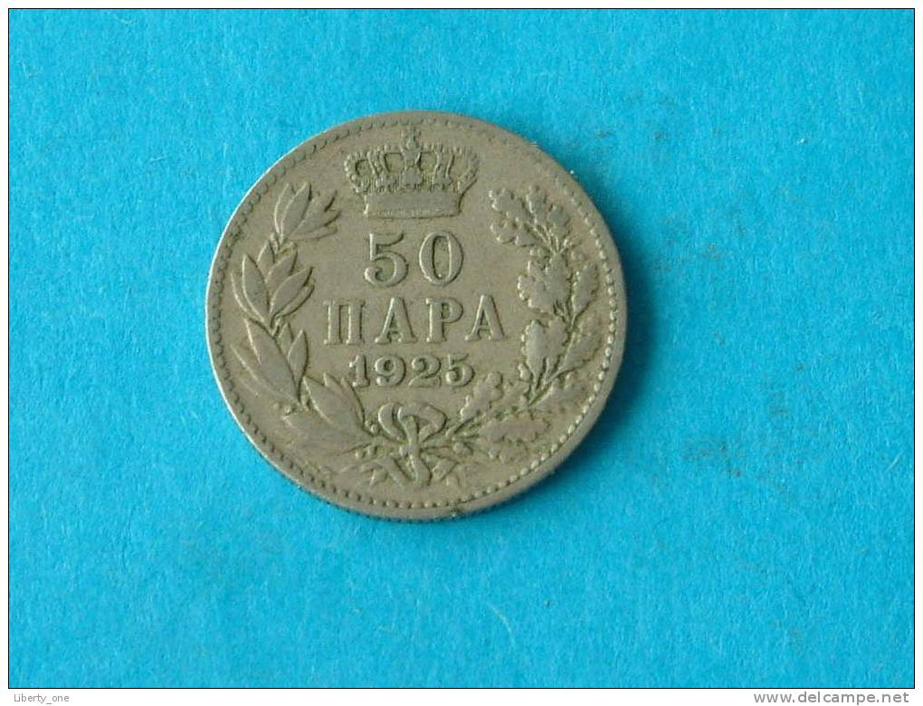 1925 - 50 HAPA / KM 4 ( For Grade, Please See Photo ) !! - Yugoslavia