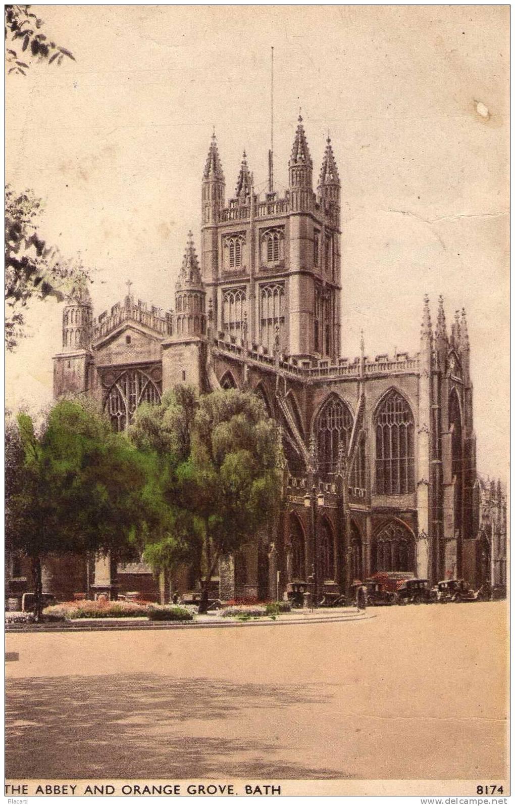 15358   Regno  Unito,  Bath,  The  Abbey  And  Orange  Grove,  VGSB - Bath